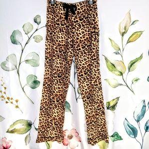 Cheetah Leopard Print Luxury Pajama House Pants